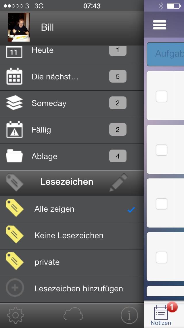 Screenshot von To-Do, Aufgaben, Projekte, Dokumente und Zusammenarbeit im Team3