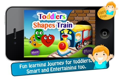 Toddlers Shapes Train screenshot 1