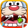 A Kids Easter Bunny Dentist Game