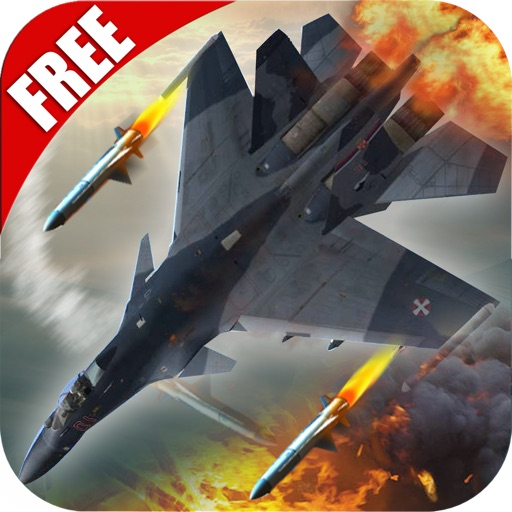 Skies of Blood Free: Migs Jet Deathmatch skirmish iOS App
