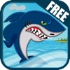 Angry Water Shark Attack FREE: killer fish dash for food