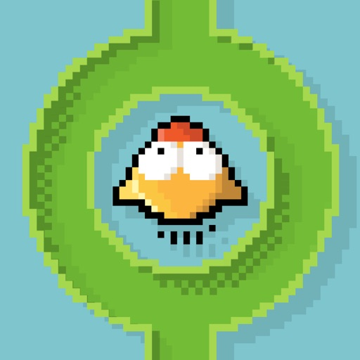 Flappy in The Pipe HD FREE - Stay in The Line Fly in The Pipe iOS App