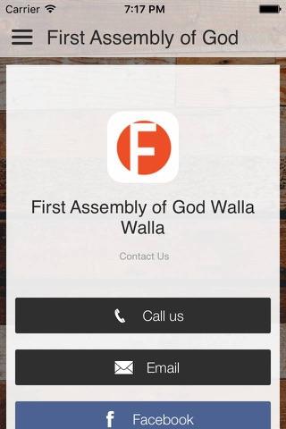First Assembly WW screenshot 1