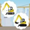 Auto Baumeister Spiel für Kinder und Babies: Finde den Fehler im Bild