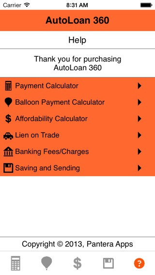Auto Loan Calculator  On The App Store
