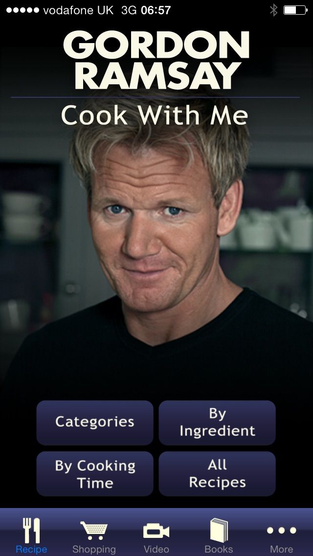 gordon ramsay cook with me app report on mobile action. Black Bedroom Furniture Sets. Home Design Ideas