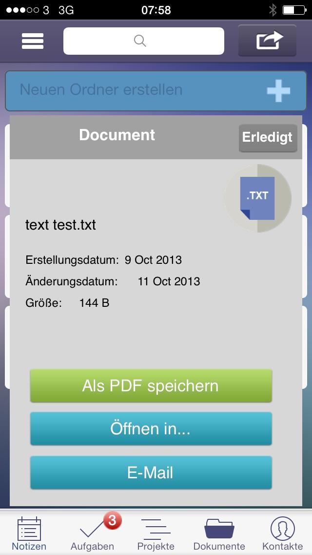 Screenshot von To-Do, Aufgaben, Projekte, Dokumente und Zusammenarbeit im Team5