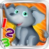 Animal Math School- 6 Amazing Learning Games for Preschool & Kindergarten Kids FREE