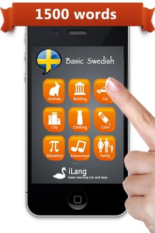 Learn Swedish * screenshot 1