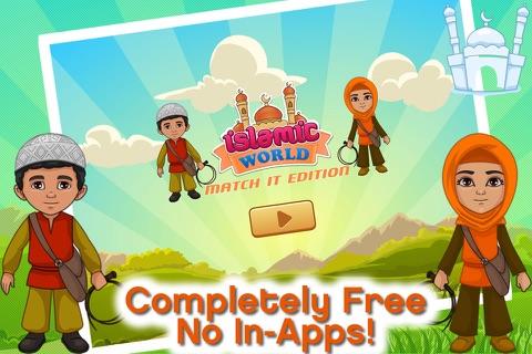 Islamic World - Match It! Games Edition Islamic Matching Pairs screenshot 2