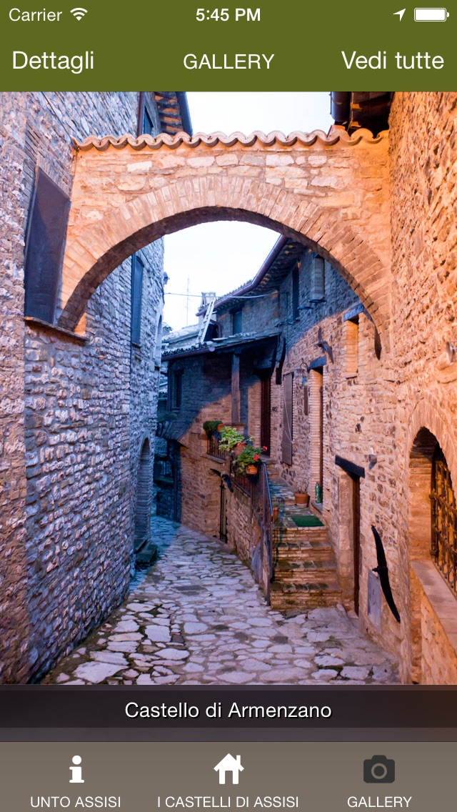 Screenshot of Assisi AppUnto4