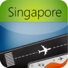 Singapore Changi Airport (SIN) Flight Tracker
