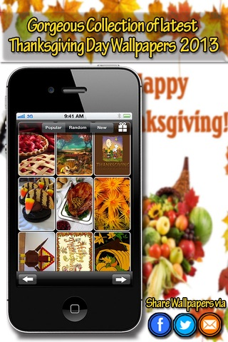 Thanksgiving Wallpapers screenshot 4