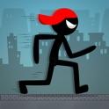 Stickman Runner Sprint City - Jump, Dash, & Swing in Stunt Draw City 2 : Parkour Running icon