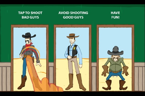 Gunslinger for iPhone screenshot 2