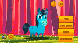 download Cute Fun Pony Run - My Little Happy Baby Horse and Angry Bird Running Game apps 1