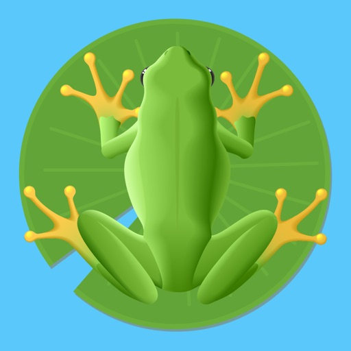 Circle The Frog - Pond Escape iOS App
