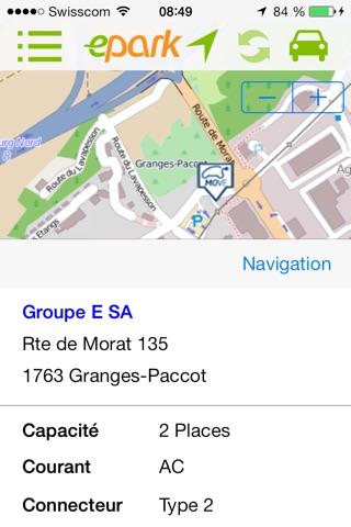 ePark  : Trouve-moi une place de parc en ville ! screenshot 3