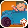 Cittadino Garage! Jogo de combinação de lógica e aprendizagem, jogos para crianças