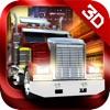 3D Trucker: Driving and Parking Simulator - 車と欧州のコンテナ貨物自動車と石油のトラックを駐車。現実的なシミュレーション、無料のレースゲー