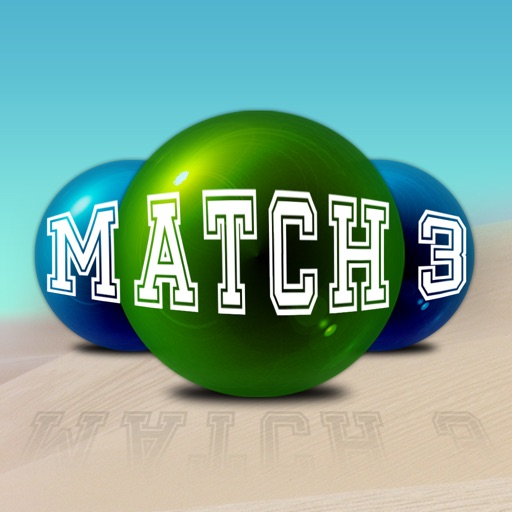 Match-3 On the Beach with Candy (Match 3 Game for Mania People) iOS App