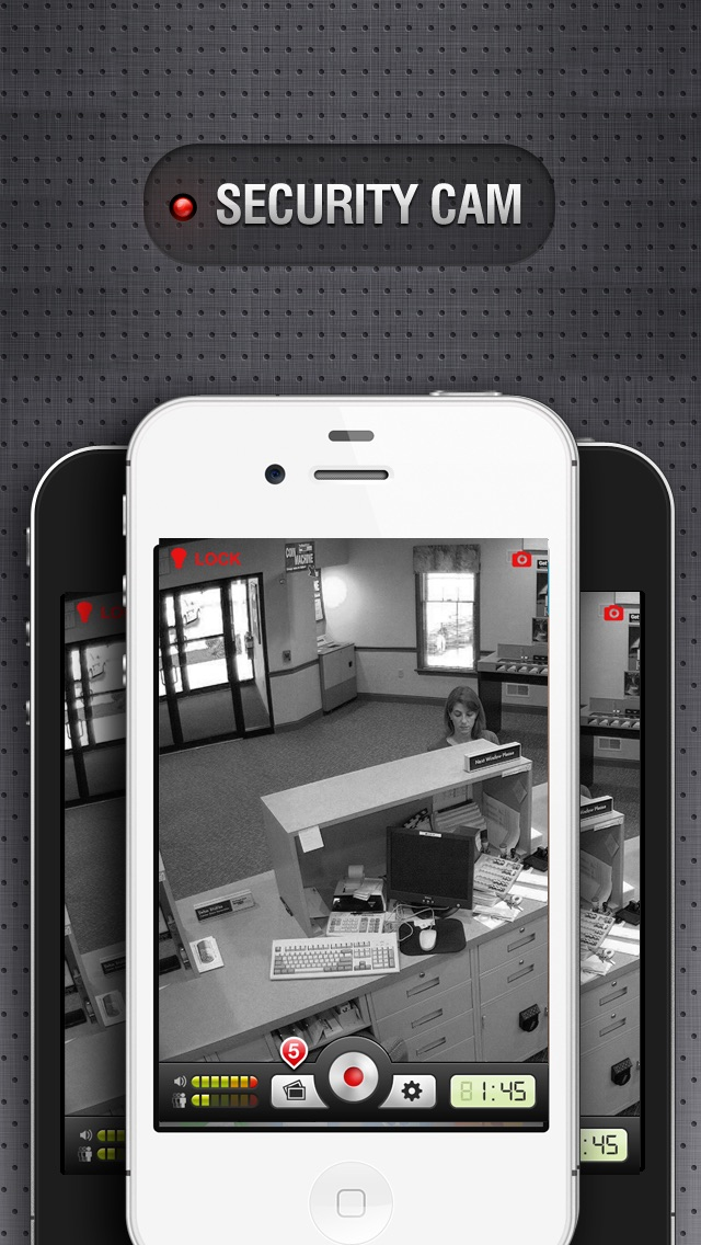 Security Cam with Dropbox & YouTube Sync screenshot one