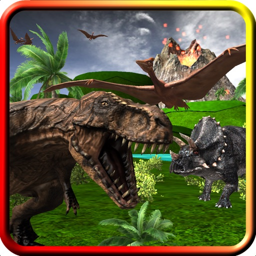 Dinosaur Roar & Rampage! 3D Game For Kids and Toddlers iOS App