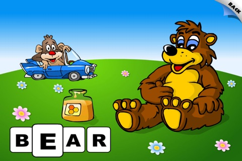 First Words School Adventure: Animals • Early Reading - Spelling, Letters and Alphabet Learning Game for Kids (Toddlers, Preschool and Kindergarten) by Abby Monkey® Lite screenshot 4