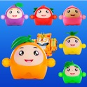 Fruit Bump-Children's bump game icon