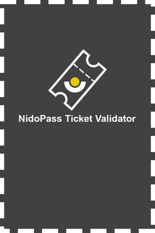 NidoPass Ticket Validator screenshot 1