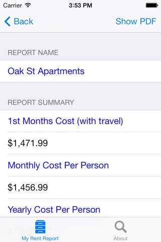 My Rent Report screenshot 4