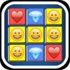 Collapse Jewels™ - Tap to Remove the Emoji Bubble Cubes! FREE