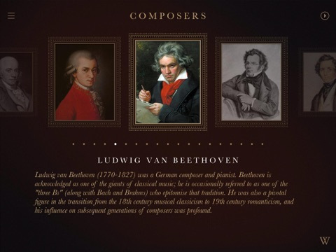 IPlayClassics: Feel classical masterpieces under your fingers! screenshot 3