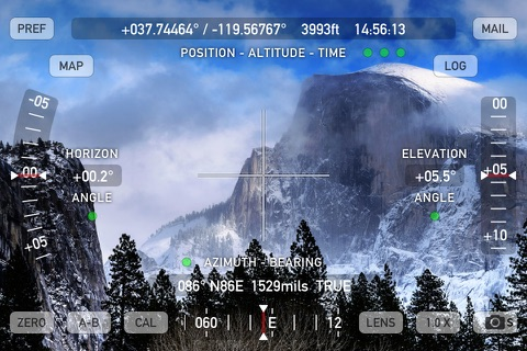 Theodolite screenshot 1