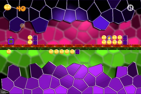 Block Reverse - Geometry Reverse Dash - Don't touch the Spikes Block screenshot 1