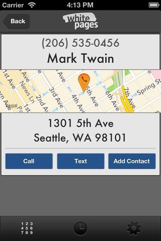 Reverse Phone Lookup screenshot 2