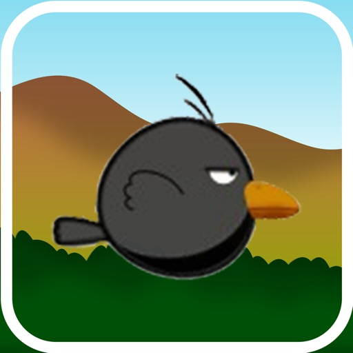 Flappy Crow - The Adventure of a Flying crow iOS App
