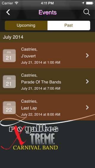 Royalites xtreme carnival band on the app store iphone screenshot 2 malvernweather Gallery