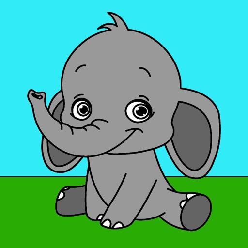 Zoo Coloring iOS App