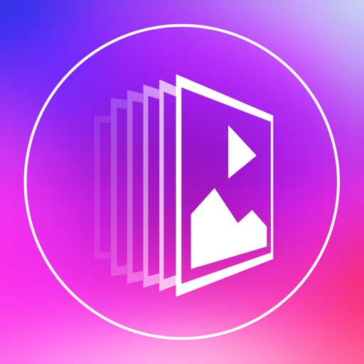 Slideshow Maker Square FREE - Photo Slideshow Creator with Beautiful Animate Transitions and Multiple Musics for Instagram iOS App