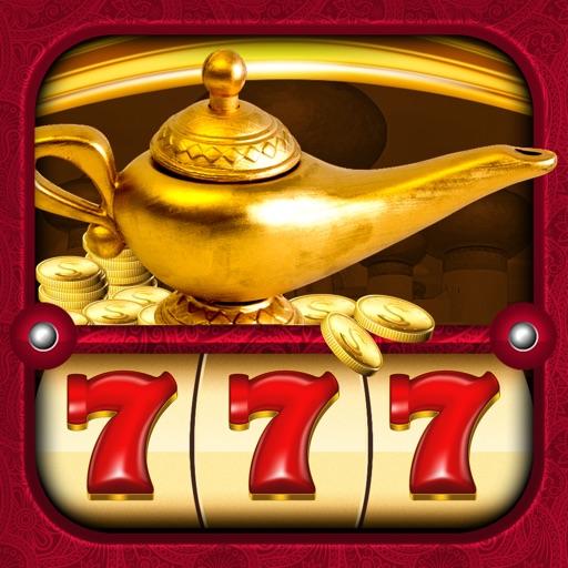 Aladdin's Free Slots Machine: #1 Win Big Lucky House of 7 Casino Reel Fun Spin iOS App