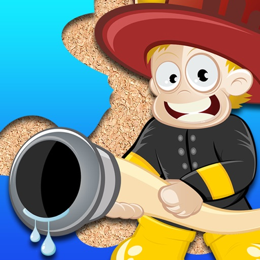 Fireman Jigsaw Puzzle for young toddlers and the kids at preschool iOS App