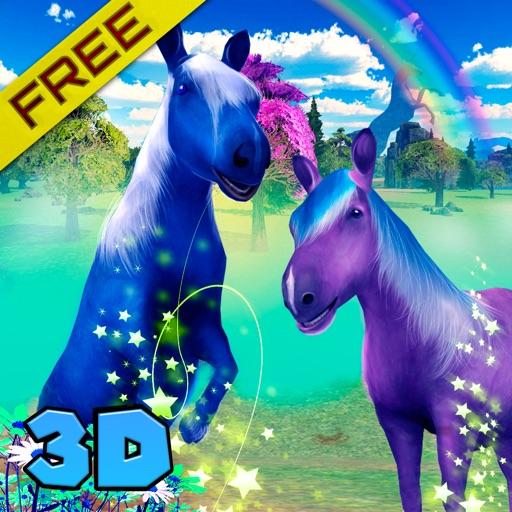 Wild Pony Clan 3D Free iOS App