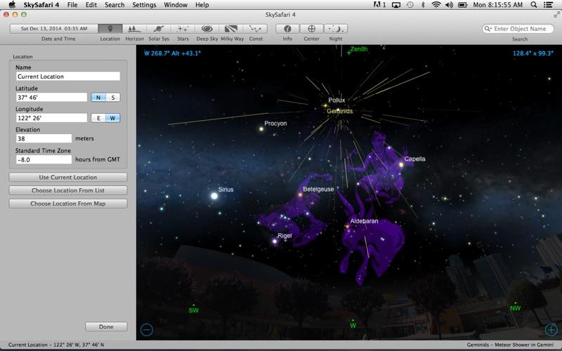 Screenshot #1 pour SkySafari 4