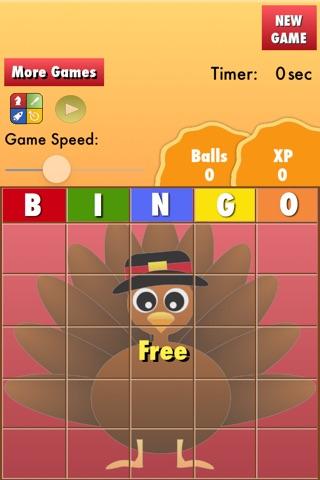 Bingo Thanksgiving screenshot 4