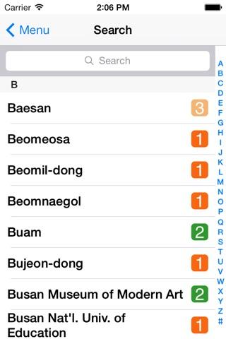 Busan City Metro - South Korean Subway Guide screenshot 2