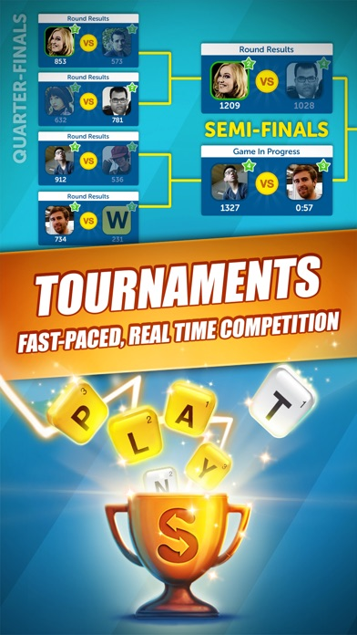 Screenshots of Word Streak by Words With Friends for iPhone