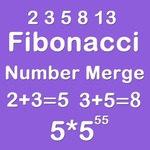 Number Merge Fibonacci 5X5 - Playing The Piano And Sliding Number Block iOS App