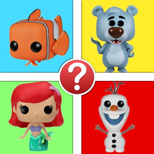 Movie Characters Trivia - Funko Pop Disney Edition Icon