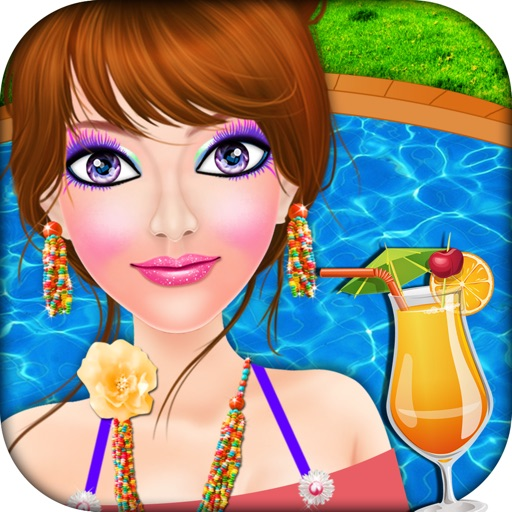 Makeover Games For Girls By: Girls Pool Party Makeover Salon